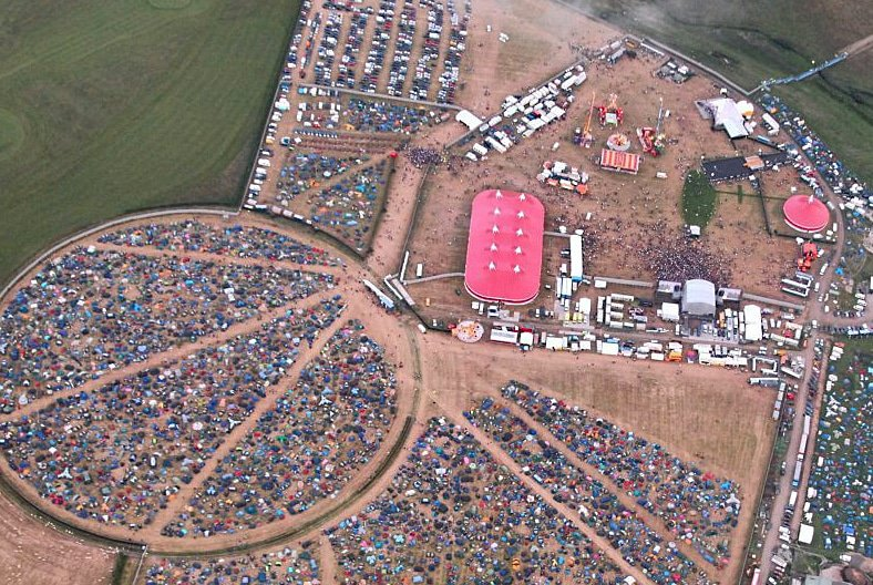 Arial Photo of the Wakestock grounds